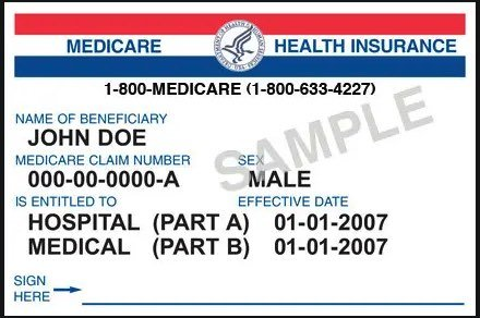 Replacement Medicare Card